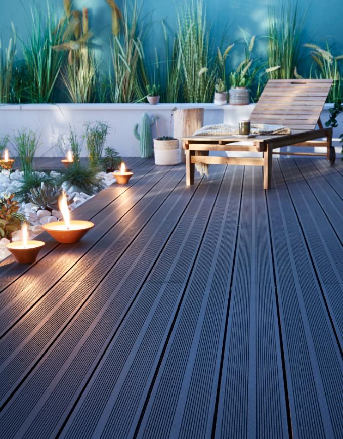 Terrasse bois cosy
